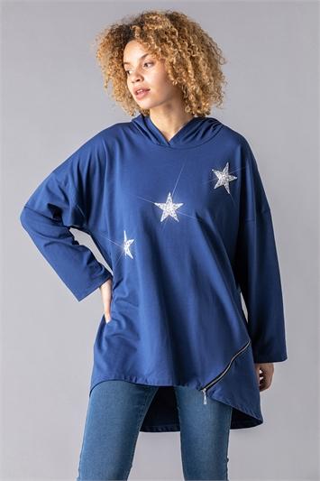 Glitter Star Hoodie