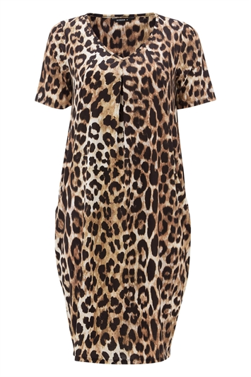 Animal Leopard Print Dress