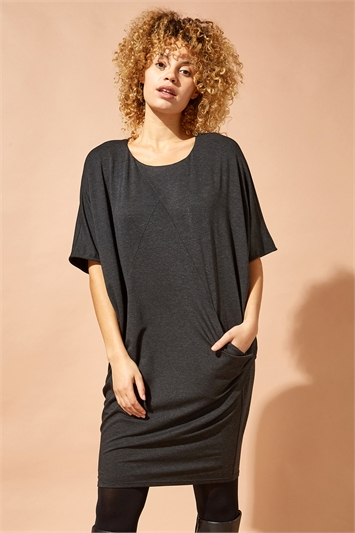 Oversized Cocoon Dress