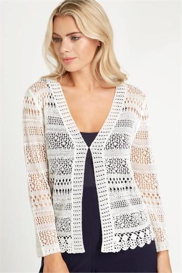 Lightweight Crochet Shrug