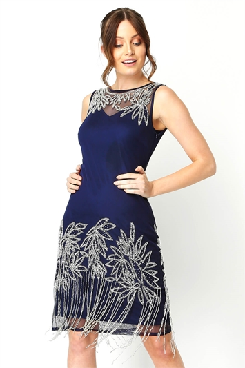 Embellished Flapper Dress