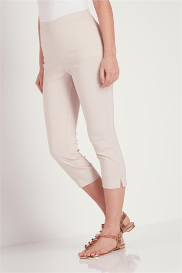 Cropped Stretch Trouser