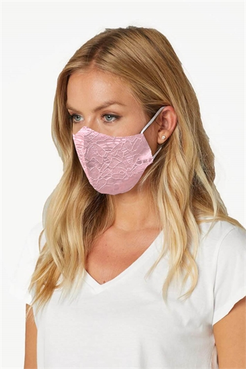 Floral Lace Fast Drying Fashion Face Mask