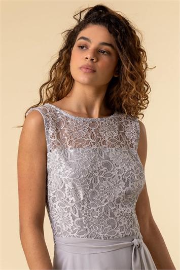 Lace Hanky Hem Dress