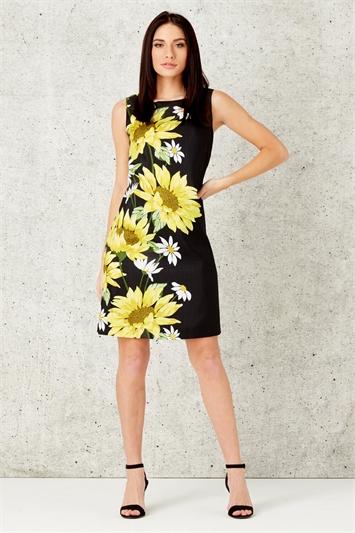 Daisy Border Print Dress
