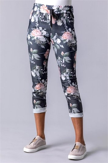 Floral Stretch Lounge Jogger