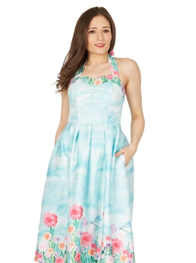 Carola Blossom Swing Dress
