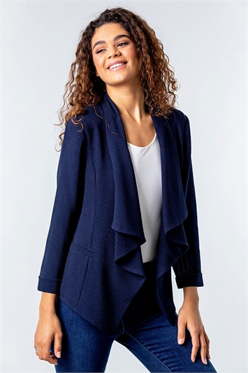 Waterfall 3/4 Sleeve Jacket