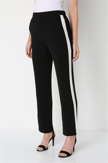 Contrast Side Stripe Trouser