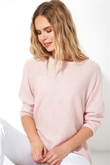 Batwing 3/4 Length Sleeve Jumper