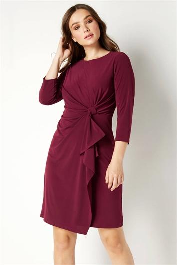 Twist Front Detail Dress