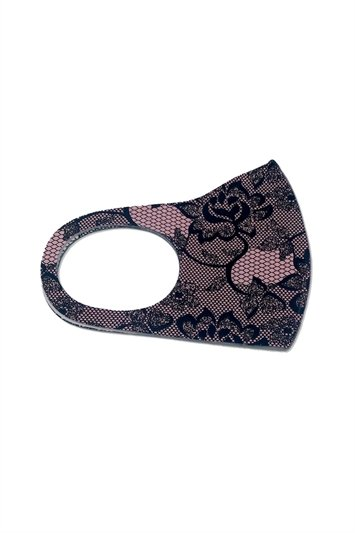 Lace Print Fast Drying Fashion Face Mask