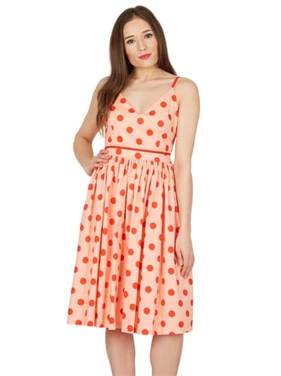 Polka Swing Dress