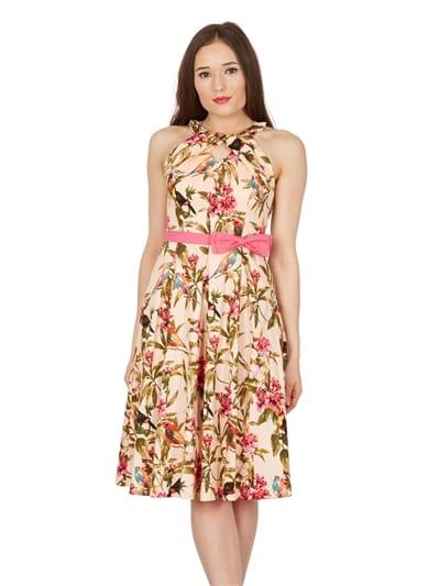 Cherel Tropical Swing Dress