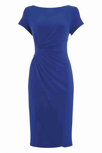 Online Exclusive Jersey Wrap Over Dress