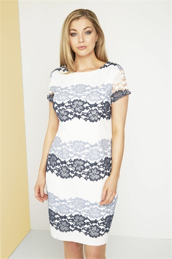 Online Exclusive Floral Lace Dress