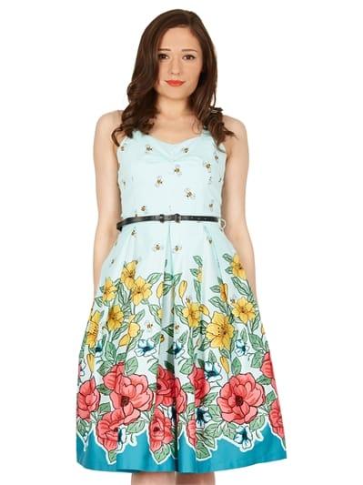 Bernice Floral Swing Dress