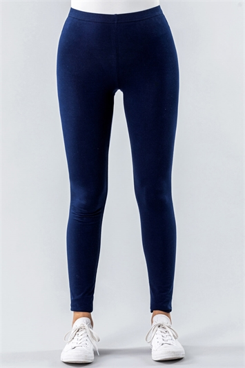 Stretch Plain Leggings