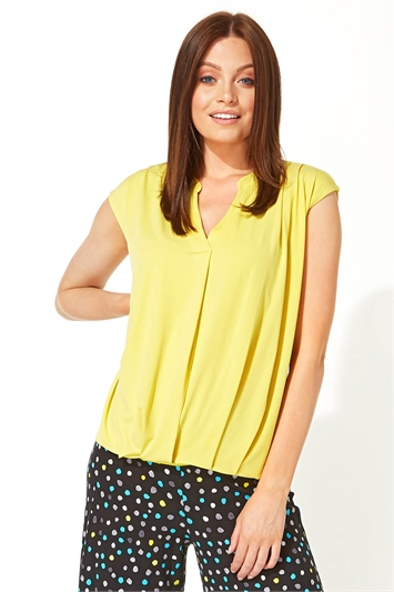 Cocoon Bubble Hem Top