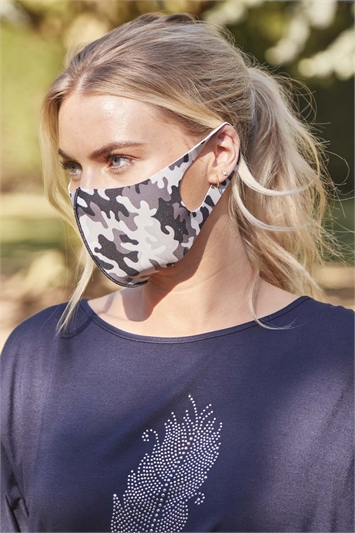 Camouflage Fast Drying Fashion Face Mask