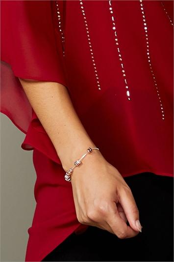 Lariat Ring & Ball Bracelet