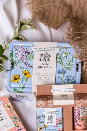 Heathcote & Ivory - In The Garden Hand Care Tin