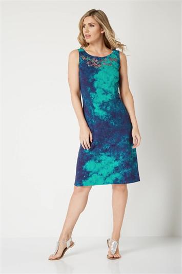 Tie Dye Shift Dress