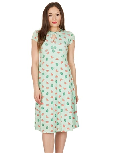 Juliet Watermelon Tea Dress