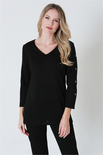 Julianna V-Neck Lounge Top