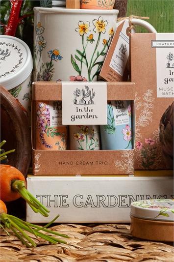 Heathcote & Ivory - In The Garden Hand Cream Trio, Image 1 of 4