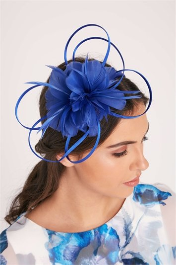 Flower Headband with Feather Detail