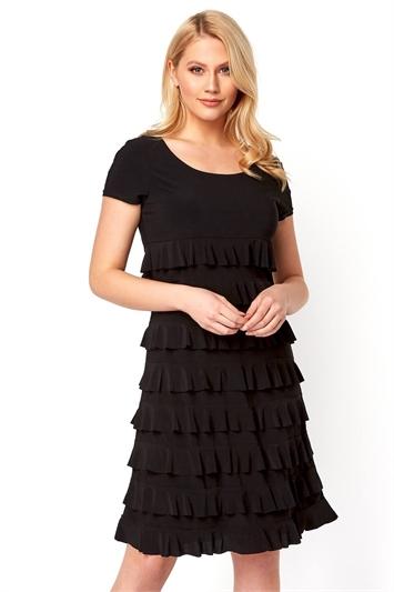Frill Tiered Dress