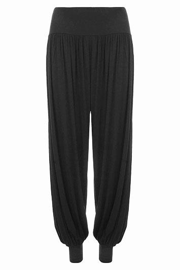 Jersey Stretch Harem Trousers