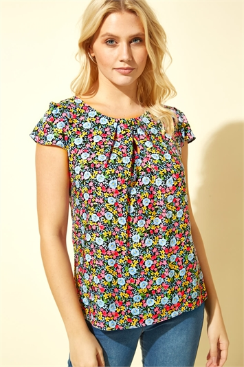 Ditsy Floral C Top