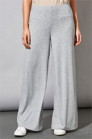 Wide Leg Lounge Trousers
