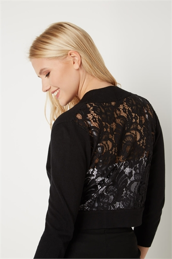 Lace Back Shrug