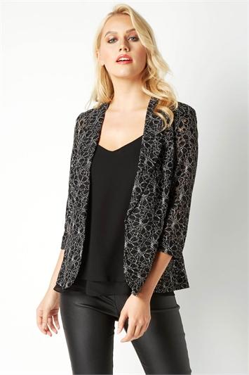 Two Tone Lace Jacket