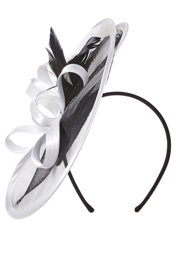 Satin Edge Disc Fascinator