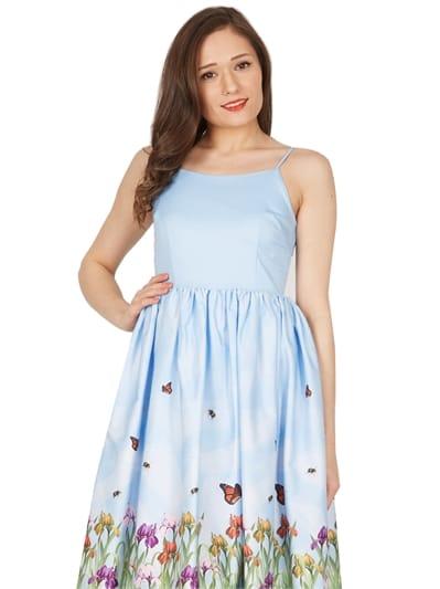 Marlene Iris Swing Dress