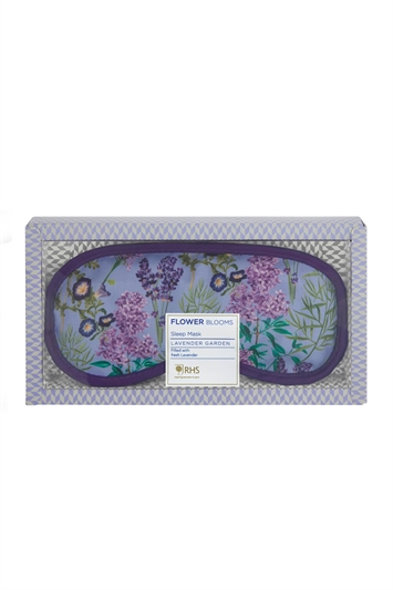 Heathcote & Ivory Lavender Garden Sleep Well Filled Eye Mask