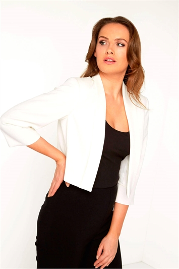 Rochette Crepe Jacket