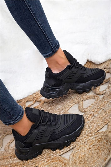Chunky Mesh Sports Trainers