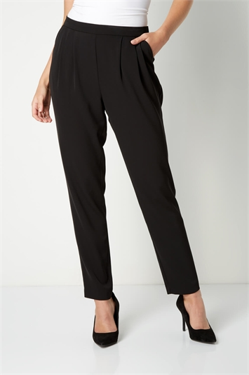 Tapered Harem Trousers