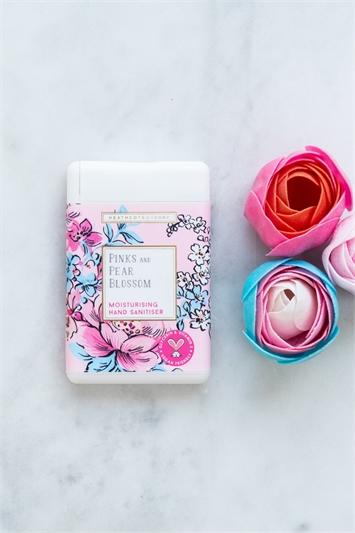 Heathcote & Ivory - Pinks & Pear Blossom Moisturising Hand Sanitiser