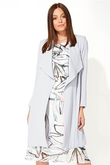Soft Longline Duster Jacket