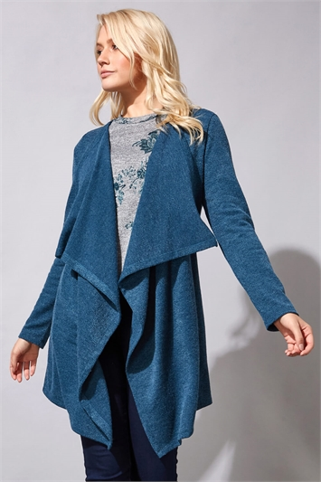 Wooly Touch Waterfall Cardigan