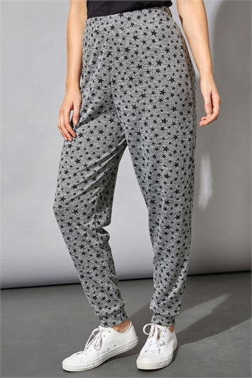 Star Print Lounge Joggers