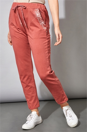 Sequin Pocket Lounge Trousers