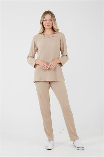 Juliana Ribbed Lounge Trousers