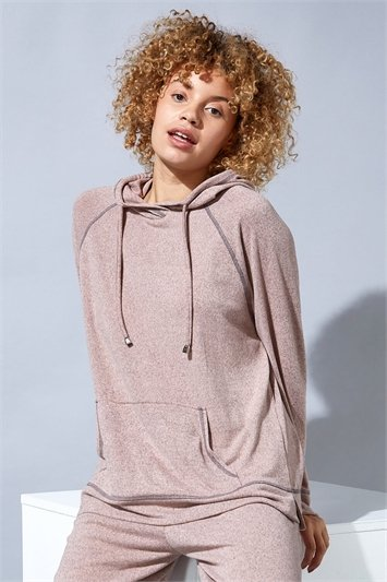 Hooded Lounge Top